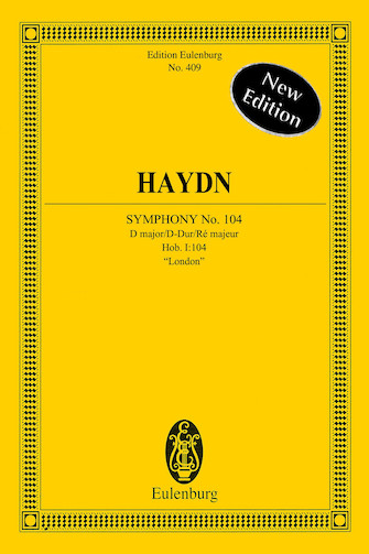 """Product Cover for Symphony No. 104 in D Major, Hob. I:104 """"London"""""""