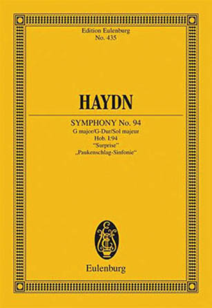 """Product Cover for Symphony No. 94 in G Major, Hob.I:94 """"Surprise"""""""