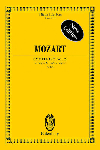 Product Cover for Symphony No. 29 in A Major, K201