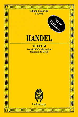 Product Cover for Te Deum in D Major