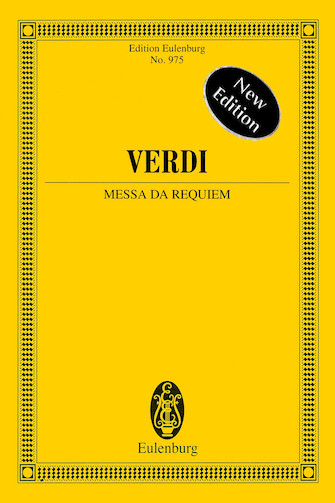 Product Cover for Messa da Requiem – New Edition