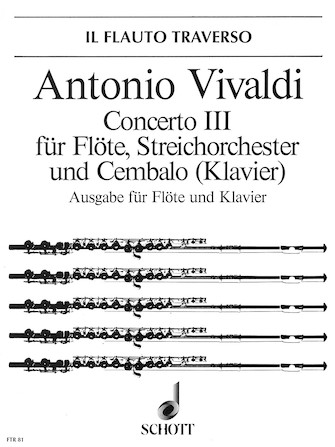 Product Cover for Concerto No. 3 in D Major, Op. 10 (RV 428/PV 155)