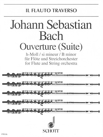 Product Cover for Overture (Suite) in B Minor, BWV 1067