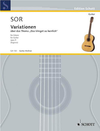 Product Cover for Variations on a Theme of Mozart, Op. 9