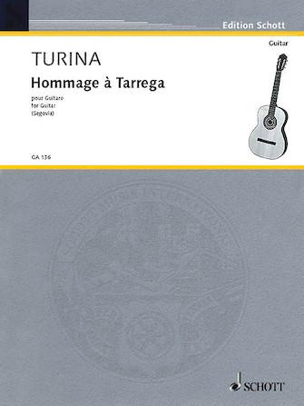 Product Cover for Hommage à Tárrega, Op. 69