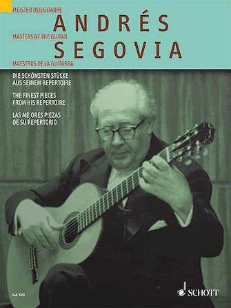 Product Cover for Andrés Segovia