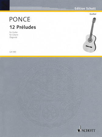 Product Cover for 12 Preludes (Easy Etudes)