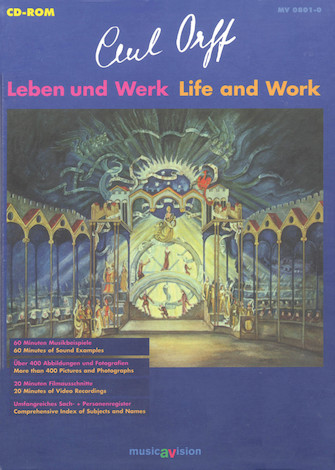 Product Cover for Carl Orff: Life and Work