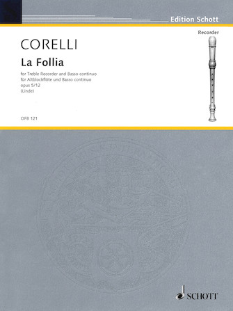 Product Cover for La Follia Op. 5, No. 12