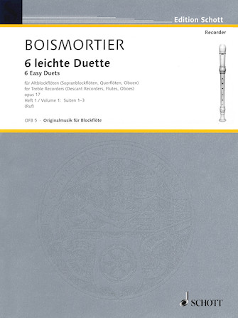 Product Cover for 6 Easy Duets: Suites 1-3, Op. 17, Volume 1