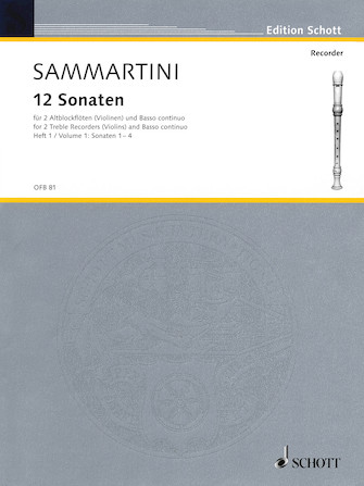 Product Cover for 12 Sonatas, Volume 1