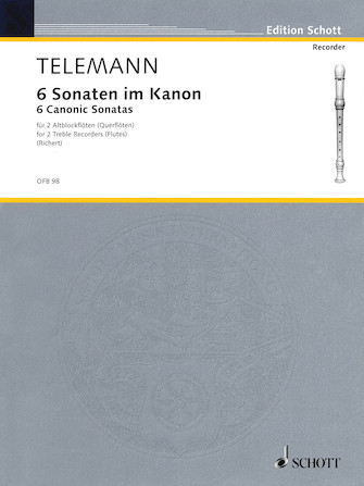 Product Cover for 6 Sonatas in Canon, Op. 5