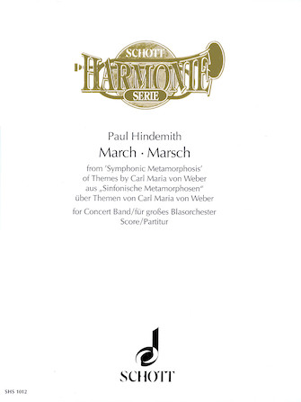 Product Cover for March from Symphonic Metamorphosis