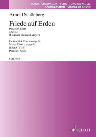 Product Cover for Friede auf Erden, Op. 13