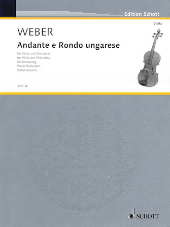 Product Cover for Andante and Rondo Ungarese