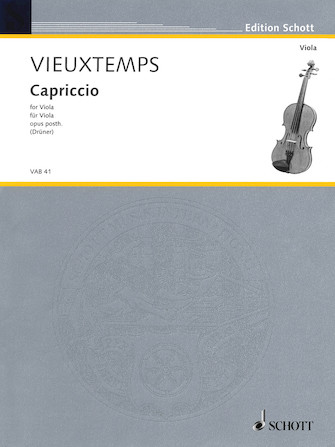 Product Cover for Capriccio, Op. Posthumous