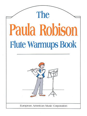 Product Cover for The Paula Robison Flute Warmups Book