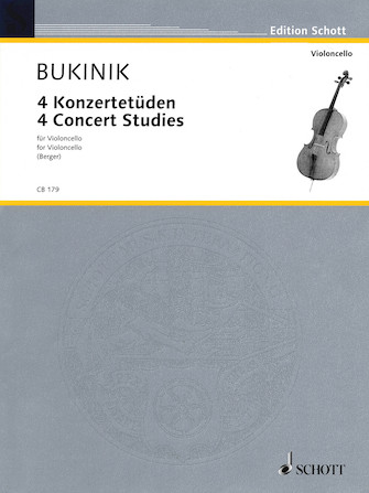 Product Cover for 4 Concert Studies