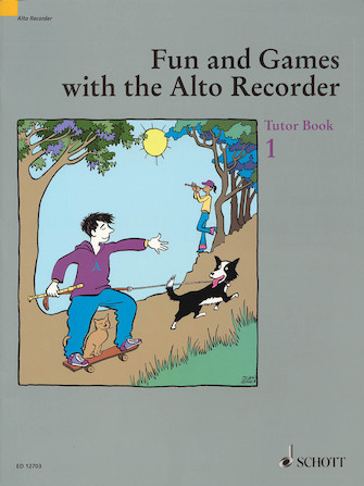 Product Cover for Fun and Games with the Alto Recorder