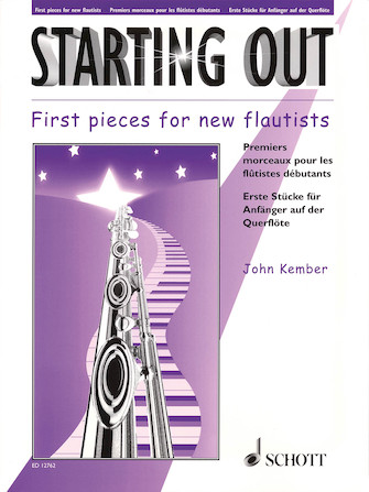 Product Cover for Starting Out – First Pieces for New Flautists