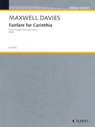 Product Cover for Fanfare for Carinthia (2004)