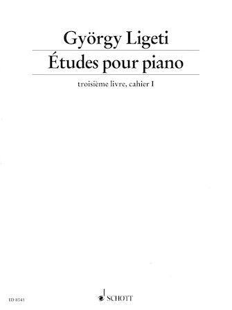 Product Cover for Études pour Piano – Volume 3, Part 1