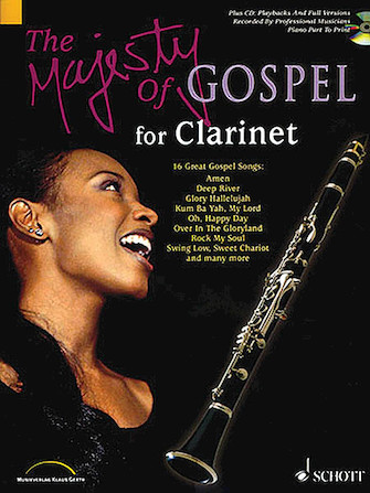 Product Cover for The Majesty of Gospel for Clarinet