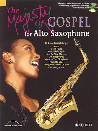 Product Cover for The Majesty of Gospel for Alto Saxophone
