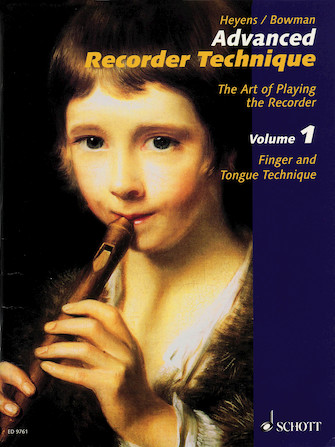 Product Cover for Advanced Recorder Technique