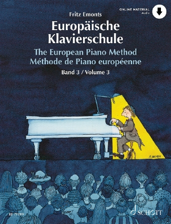 Product Cover for The European Piano Method – Volume 3
