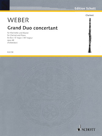 Product Cover for Grand Duo Concertante in E-flat Major, Op. 48