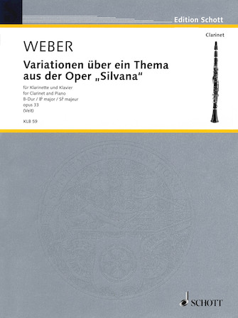 Product Cover for Variations on a Theme from the Opera Silvana