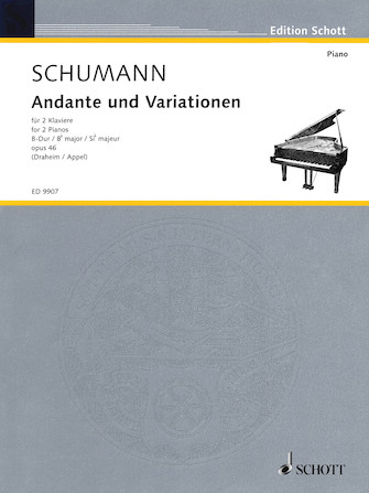 Product Cover for Andante and Variations in B Flat Major Op. 46