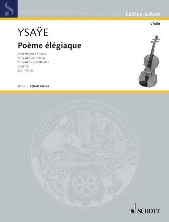 Product Cover for Poeme Elegiaque