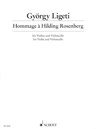Product Cover for Hommage à Hilding Rosenberg