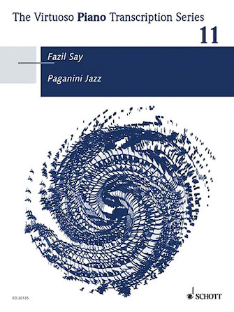 Paganini Jazz - The Virtuoso Piano Transcription Series
