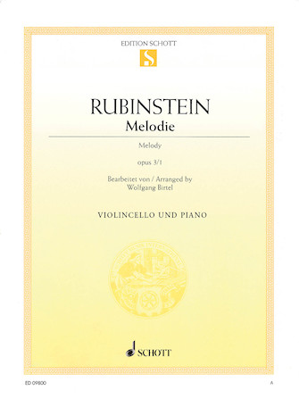 Product Cover for Melodie, Op. 3 No. 1