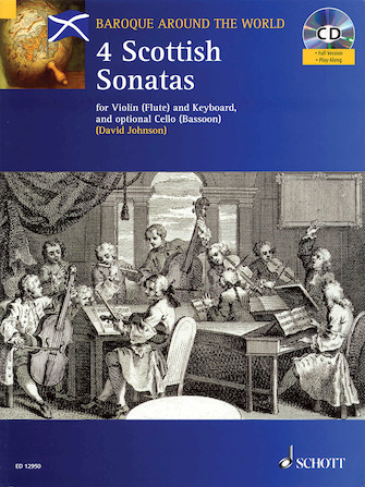 Product Cover for Four Scottish Sonatas