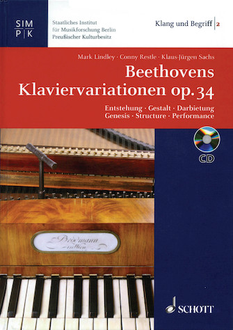 Product Cover for Beethoven's Variations for Piano Op. 34