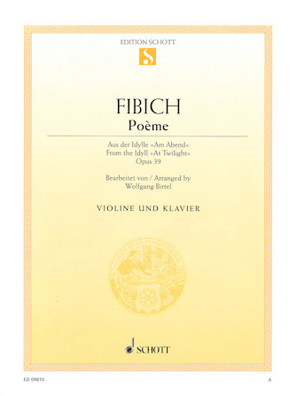 Poème For Violin And Piano Hal Leonard Online