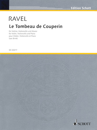 Product Cover for Le Tombeau de Couperin
