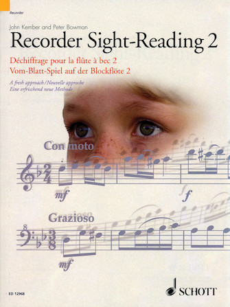 Product Cover for Recorder Sight-Reading 2