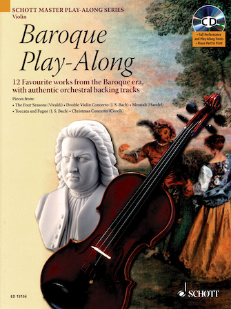 Product Cover for Baroque Play-Along for Violin