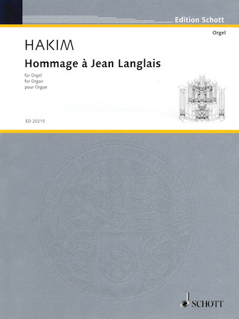 Product Cover for Hommage à Jean Langlais