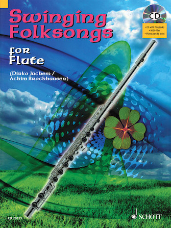 Product Cover for Swinging Folksongs Play-along For Flute Bk/cd With Piano Parts To Print