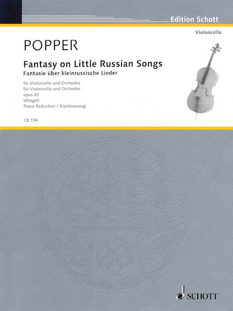 Product Cover for Fantasy on Little Russian Songs