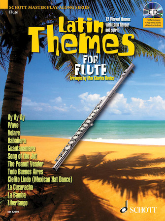 Product Cover for Latin Themes for Flute
