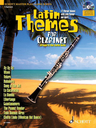 Product Cover for Latin Themes for Clarinet