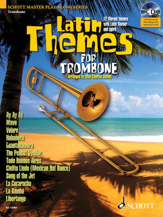 Product Cover for Latin Themes for Trombone