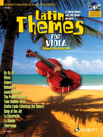 Product Cover for Latin Themes for Viola